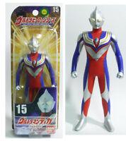 "Bandai Ultra Hero Series #15 VINYL ULTRAMAN TIGA MARUCHI 6"" Action Figure MISB"