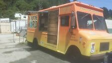 mobile coffee/drink food concessions truck , inspected and ready for work