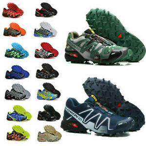 Salomon Speedcross 3 Running Men's Shoes Trainers Athletic Sport Camping Hiking