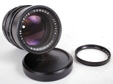 Leica Leitz Summicron-M 90mm f/2 MF Lens (Black) with VISOFLEX 16464 B+W Filter