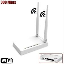 300Mbps Wireless N Access Point 4 Port NAT Router 24Mbps ADSL2+ Modem RJ45 RJ11