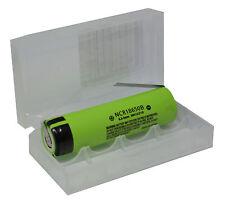 Panasonic ncr18650b 3,6v li-Ion-COBALTO batteria a 3400 mAh e U-lötfahne