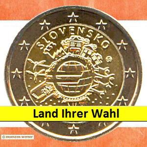 € Sondermünzen: 2 Euro Münze 2012 10 Jahre € Bargeld zwei€ Sondermünze 1 aus 21