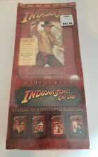 The Adventures of Indiana Jones The Complete DVD Movie Collection - Longbox