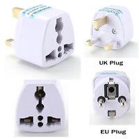 Universal UK US AU EU AC Power Socket Plug Travel Charger Adapter Converter