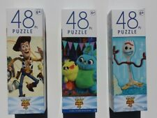 NEW TOY STORY 4 (Lot of 3) 48 Piece Puzzles-Forky,Woody,Ducky/Bunny+Memory Game