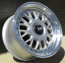 Silver 17X8.5 +35 ESM-004M 4x108 Ford Focus St Wheels Rims