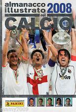 ALMANACCO ILLUSTRATO DEL CALCIO 2008=PANINI=SERIE A-B-C-D=ITALIA=COPPE EUROPEE