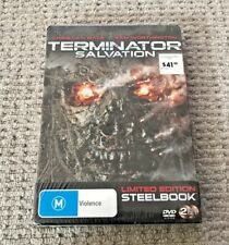 Terminator Salvation Limited Steelbook Edition DVD R4 New Australian Release