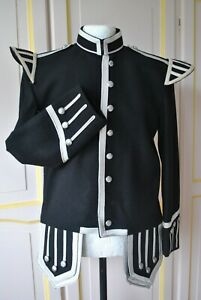 Brand New Pipers  Black Doublet size 42 in.