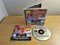 FORMULA ONE 99   - Rare Sony PS1 Game - COMPLETE WITH MANUAL - FREE P&P