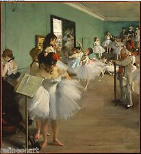 Edgar Degas The Dance Class Giclee Canvas Print