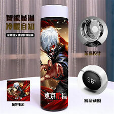 Anime Tokyo Ghoul Logo Smart Thermos Cup New High-end Gift Creative Tepid Cup