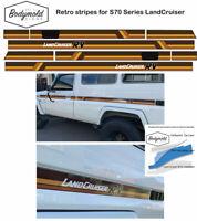 TOYOTA LANDCRUISER 75 Series Retro Troopy Stripes