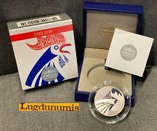France 2014 10 Euro BE Coq Monnaie de Paris argent 10000 exemplaires