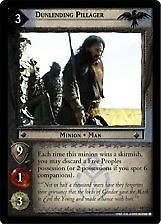 Lord of the Rings CCG Return King 4U13 Dunlending Pillager X2 LOTR TCG