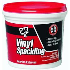 Gallon Vinyl Spackling DAP 12133 patches plaster,wood or drywall  dries fast 2PK