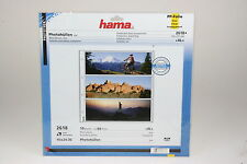 Hama Photohüllen für 60 Fotos im Format 10x24cm APS-P Packung mit 10 Blatt #2618