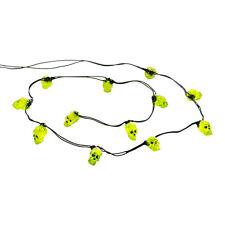 Dept 56 String of 12 Skull Lights 4033848 NEW Snow Village Halloween D56 SVH