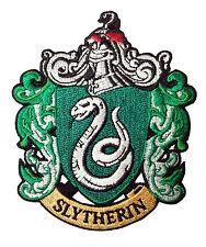 Harry Potter serpentard Fancy Dress Costume. Iron on Badge/patch.
