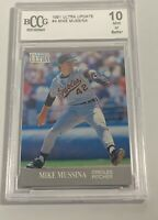 1991 FLEER ULTRA UPDATE MIKE MUSSINA #U-4 ROOKIE RC BCCG 10 MINT (DR)