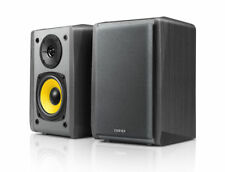 Edifier R1010bt 2.0 Black Bookshelf Speakers Built-in Amp Bluetooth 2x RCA