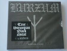 1Burzum - 1Burzum / Aske (2010/2018) Brand New, Sealed, Slip-case