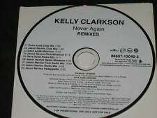 KELLY CLARKSON - Never Again - Remixes - 9 Track DJ PROMO CD! RARE! Dave Aude