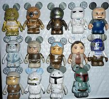 Disney Star Wars Series #4 Vinylmation ( Set of 14 ) with Chaser & Combo Toppers