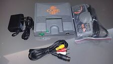 Pc-Engine Core Grafx II 2 console - Work: Japan Hucard /US Turbo Grafx card game