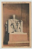 Unused Postcard Lincoln Memorial by Daniel Chester French Washington DC