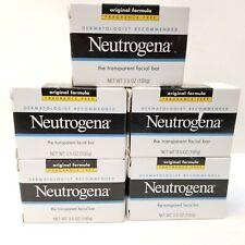 Neutrogena Facial Soap Bar Original Formula Fragrance Free Lot of 5 New