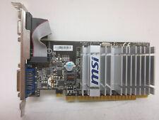 MSI Video Graphics Card DVI-I  VGA Output  N8400GS-D512H  *** Fast Shipping  ***