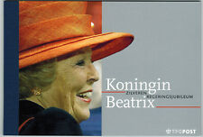 Nederland  Prestigeboekje 7 Zilveren Regeringsjubileum  (pr7)