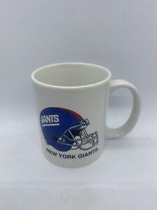VINTAGE New York Giants Coffee Mug NFL FOOTBALL