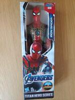 Avengers Marvel Titan Hero Series Iron Spider 12-Inch Endgame Super Hero Action