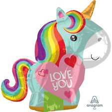 Ballon Aluminium Licorne Love You 43 x 53 cm Cod.276289