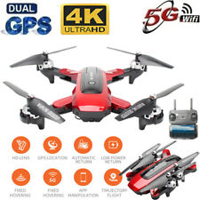 Drone Foldable Quadcopter GPS WIFI FPV 1080P Wide-Angle HD Camera Drone Gift New