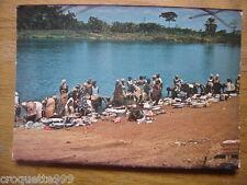 carte postale Postcard AFRIQUE Gabon Laveuses a Mouila
