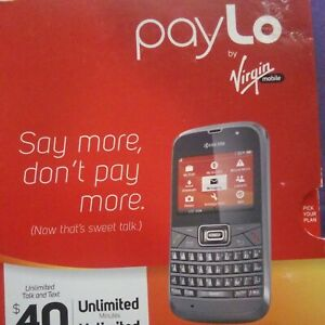 VIRGIN MOBILE-Kyocera Brio S3015 QWERTY Cell PhoneNEW OPEN BOX.sanitized!