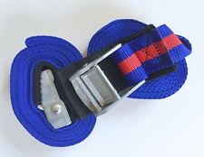 Tie-Down Boat Straps Pair - 3M x 35mm Straps with Buckle Protector Pad