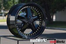 18x9.5 18x10.5 +35/22 Inch ESR SR04 5x120 Black Wheels Rims BMW E46 E90 E60 M3