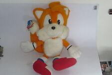 "TWO TAILS Sonic Hedgehog 14"" Peluche The From (1992) Sega Raro Original"