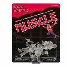 Iron Maiden Muscle 3 Pack Clear SDCC 2019 Super 7 Figures