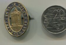 Metal badge  Home to Colac 1928