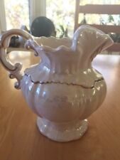 """1975 Arnel's Iridescent 5 3/4"""" Pitcher with gold trim"""