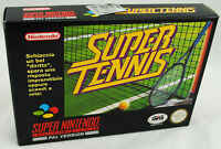 Jeu SUPER TENNIS sur Super Nintendo SNES Neuf carton d'usine version PAL