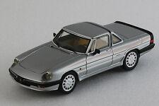 Alfa Romeo Spider 1986 3a serie Hardtop - 1/43ème - Gris métal - Milena Rose