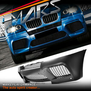 X5M style Front Bumper Bar with Wheel Archs for BMW E70 X5 11-13 LCI Bodykit