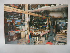 VINTAGE POSTCARD OLD COUNTRY STORE AT HITCHING POST IN AURORA KENTUCKY UNUSED